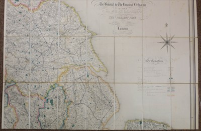 Lot 35-England & Wales. Lewis (Samuel), A Map of England & Wales, circa 1840