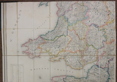 Lot 35 - England & Wales. Lewis (Samuel), A Map of England & Wales, circa 1840