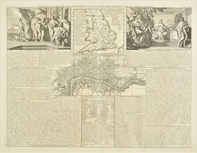 Lot 31 - England & Wales. Chatelain (Henry Abraham), Three engraved maps, circa 1720