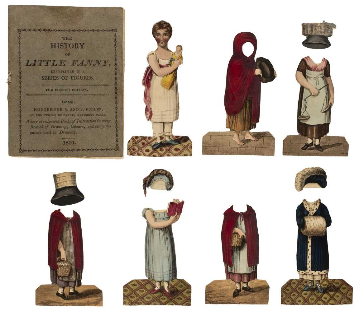 Lot 576 - Paper doll book. The History of Little Fanny, 4th edition, 1810