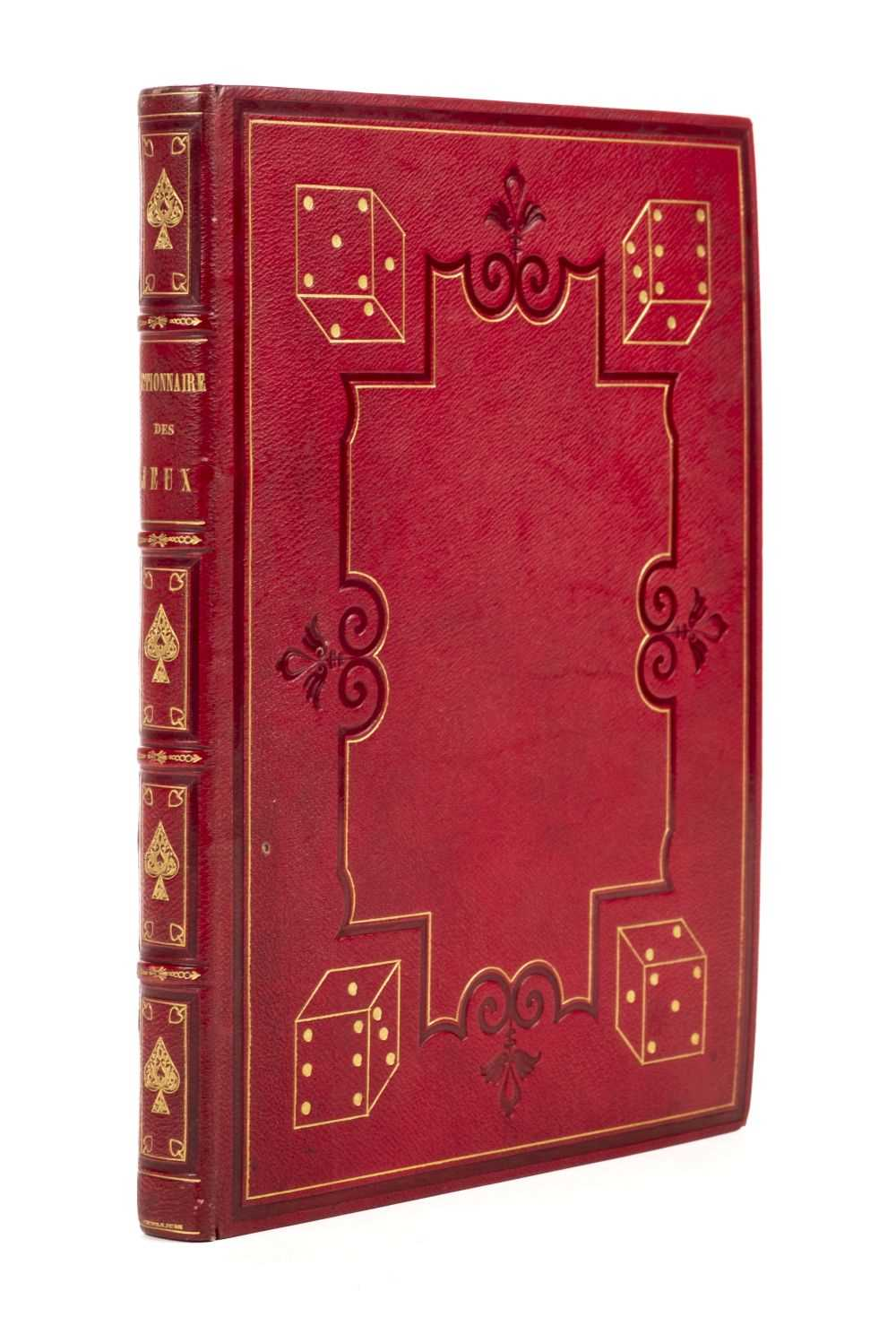 Lot 530-Lacombe, Jacques. Encyclopédie méthodique: Dictionnaire des Jeux, 1792