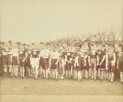 Lot 91 - Athletics. A large collection of Victorian and later prints and photographs