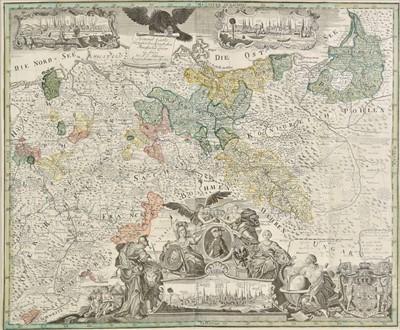 Lot 74 - Prussia. Schleuen (Johann David). Prussia & Poland, circa 1750