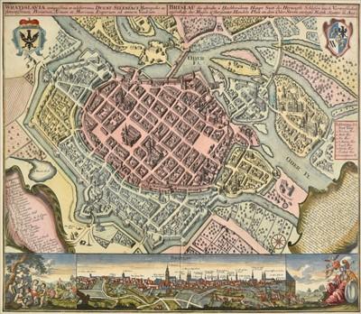 Lot 72 - Poland. Seutter (George Matthaus), Wratislavia..., circa 1740