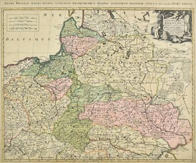 Lot 71 - Poland. Schenk (Petrus), Estats de Pologne..., circa 1740