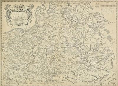 Lot 70 - Poland. Sanson (Nicolas), Poland, circa 1663