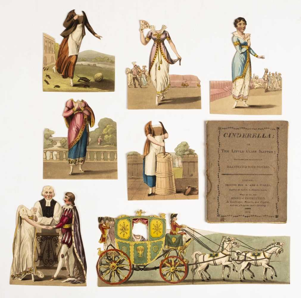 Lot 575 - Paper doll book. Cinderella; or The Little Glass Slipper, 1st edition,. S. and J. Fuller, 1814