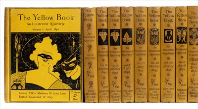 Lot 600 - Beardsley (Aubrey and others). The Yellow Book: An Illustrated Quarterly, 13 volumes