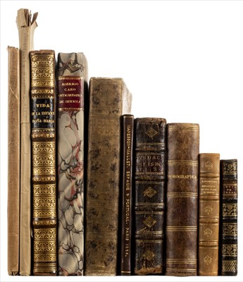 Lot 5 - Azevedo (Luiz de). Fundaçaõ de Lisboa, 2nd edition, 1753, & 9 others including Iberian imprints
