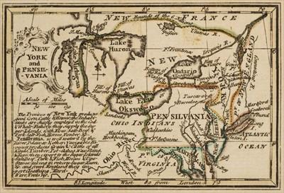 Lot 29 - Gibson (John). Atlas Minimus, revis'd by Emanuel Bowen, London: J. Newbery, 1758