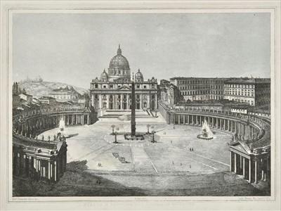 Lot 37 - Moschetti (Alessandro). Principali Monumenti di Roma, 1846