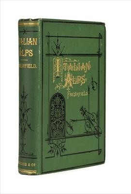 Lot 28 - Freshfield (Douglas W.) Italian Alps, 1st edition, 1875