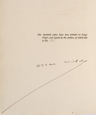 Lot 614 - Wilde (Oscar). The Importance of Being Earnest, 1899