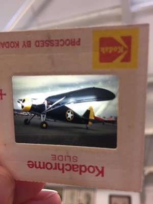 Lot 22-Aviation slides. Approximately 290 35mm aviation slides