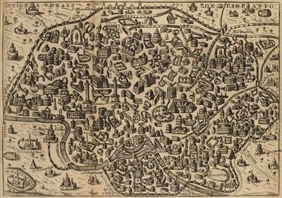 Lot 44 - Piranesi (Giovanni Battista). Roma antica [...moderna], 2 volumes, 1741