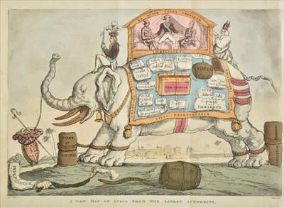 Lot 47 - Rowlandson (Thomas, illustrator). The Grand Master or Adventures of Qui-Hi? in Hindostan, 1816