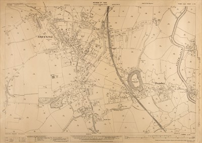 Lot 23-Ordnance Survey Maps. A collection of approximately 280 maps, mostly early 20th century