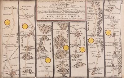 Lot 25-Saxton (Christopher & Kip William). Northamtonia Comitatus Descriptio..., 1637