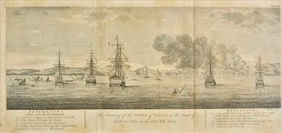 Lot 2 - Anson (George), A Voyage round the World in the years MDCCXL, I, II, III, IV, 1749