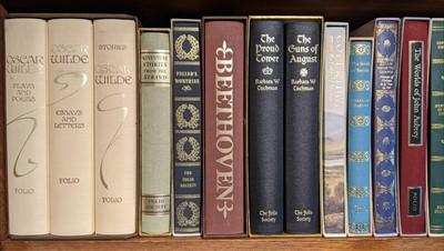 Lot 167-Folio Society. 102 volumes