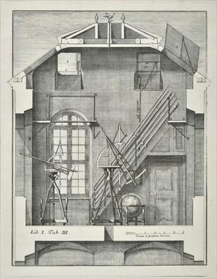 Lot 297-Marinoni (J.). De astronomica specula domestica et organico apparatu astronomico ..., Vienna,  1746