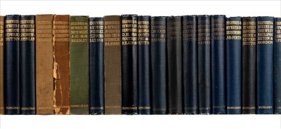 Lot 9-Highways and Byways series. Complete set, 37 volumes, mixed editions, 1899-1948