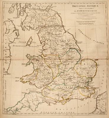Lot 16-Atlases. A mixed collection of British & foreign atlases, 19th century