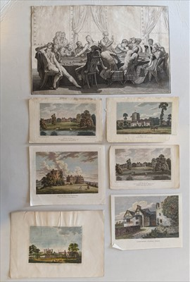 Lot 65 - Prints and engravings. Approximately 300 prints and engravings, 18th & 19th century
