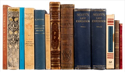 Lot 6-Scott (Robert Falcon). Scott's Last Expedition, 3rd edition, 1913, & others