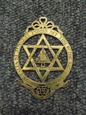 Lot 48 - Masonic. George III silver-gilt medal