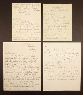 Lot 638 - Mitford (Nancy Freeman, 1904-1973). 17 letters & 8 postcards, 1967-72
