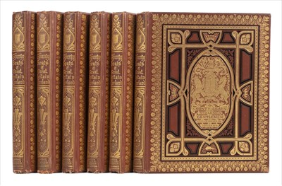 Lot 40-Morris (F. O.). Picturesque Views of Seats..., 6 volumes, circa 1880