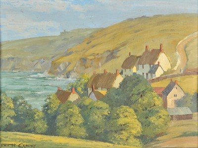 Lot 34-Craddy (Eric, Haysom, 1913-2007). Cadgwith, Cornwall