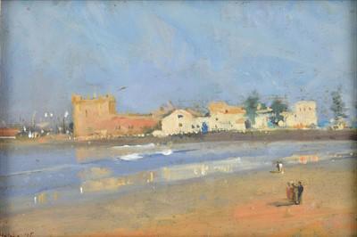 Lot 44-Helme (Jane, 20/21st Century). Beach at Essaouira