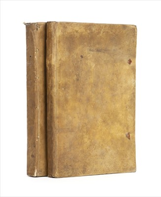Lot 10-Grand Tour diary, 2 volumes, 1785-95, unpublished manuscript
