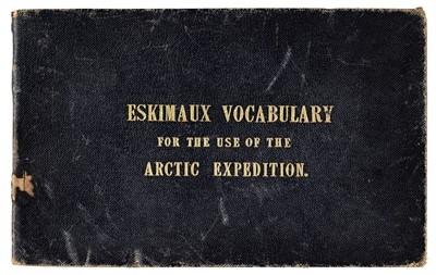 Lot 178 - Washington (John). Eskimaux and English Vocabulary, 1850