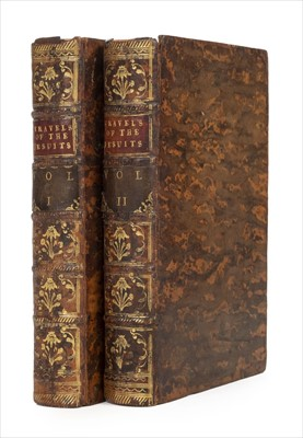 Lot 22-Lockman (John). Travels of the Jesuits, into Various Parts of the World, 1st edition, 1743