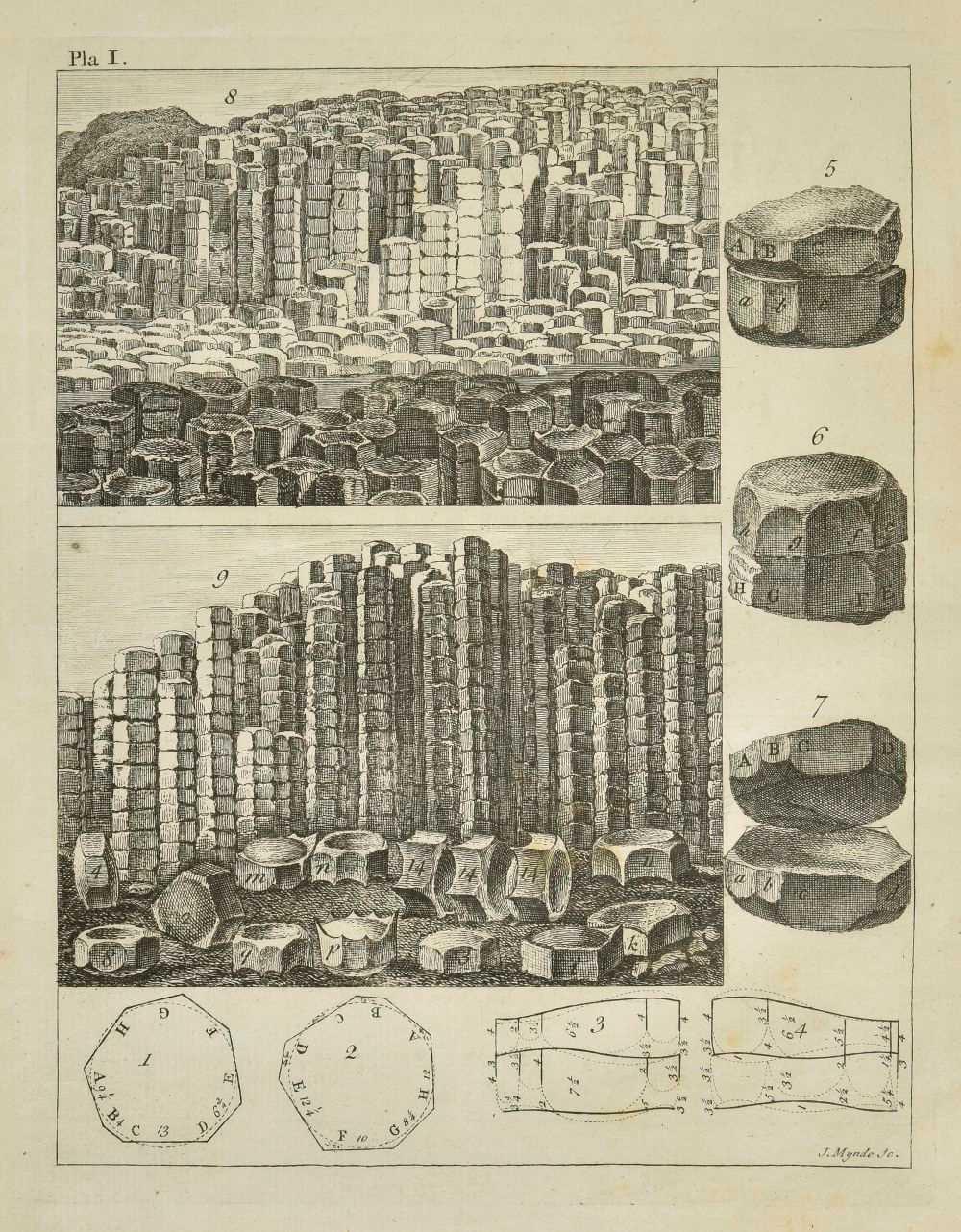 Lot 52-Costa (Emanuel Mendes da). A Natural History of Fossils, 1757