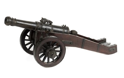 Lot 14 - Cannon. A 17th century Dutch signal cannon