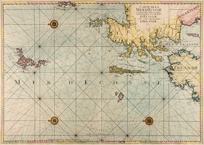 Lot 27-Scotland. Jaillot (A. H.), Map of Scotland, circa 1693