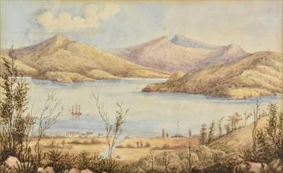Lot 26-New Zealand. Akaroa, Canterbury, circa 1850