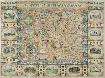 Lot 3-Birmingham. Price (W. H.), The City of Birmingham, 1949