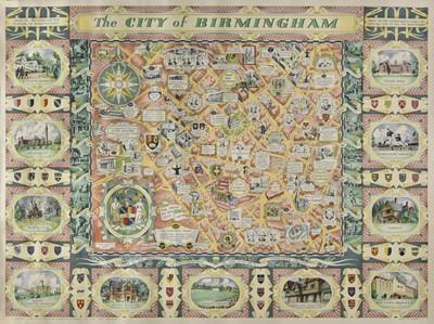 Lot 3 - Birmingham. Price (W. H.), The City of Birmingham, 1949