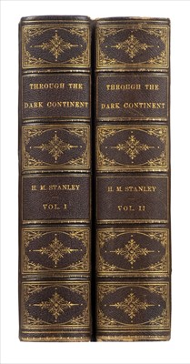Lot 31-Stanley (Henry M.) Through the Dark Continent, 2 volumes, 1st US edition, New York, 1878