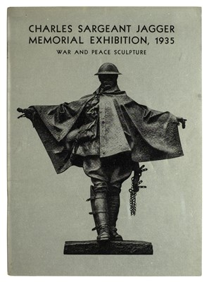 Lot 361 - Jagger (Charles Sargeant). Charles Sargeant Jagger Memorial Exhibition, 1935