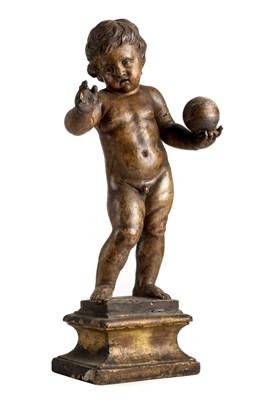 Lot 40-Verrocchio (Andrea del, 1435-1488, manner of). The Infant Christ, sculpture