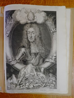 Lot 213-Restoration London. Album of documents and autographs, c.1660-90