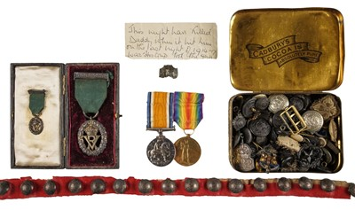 Lot 26-Volunteer Officer's Decoration, VR and other items