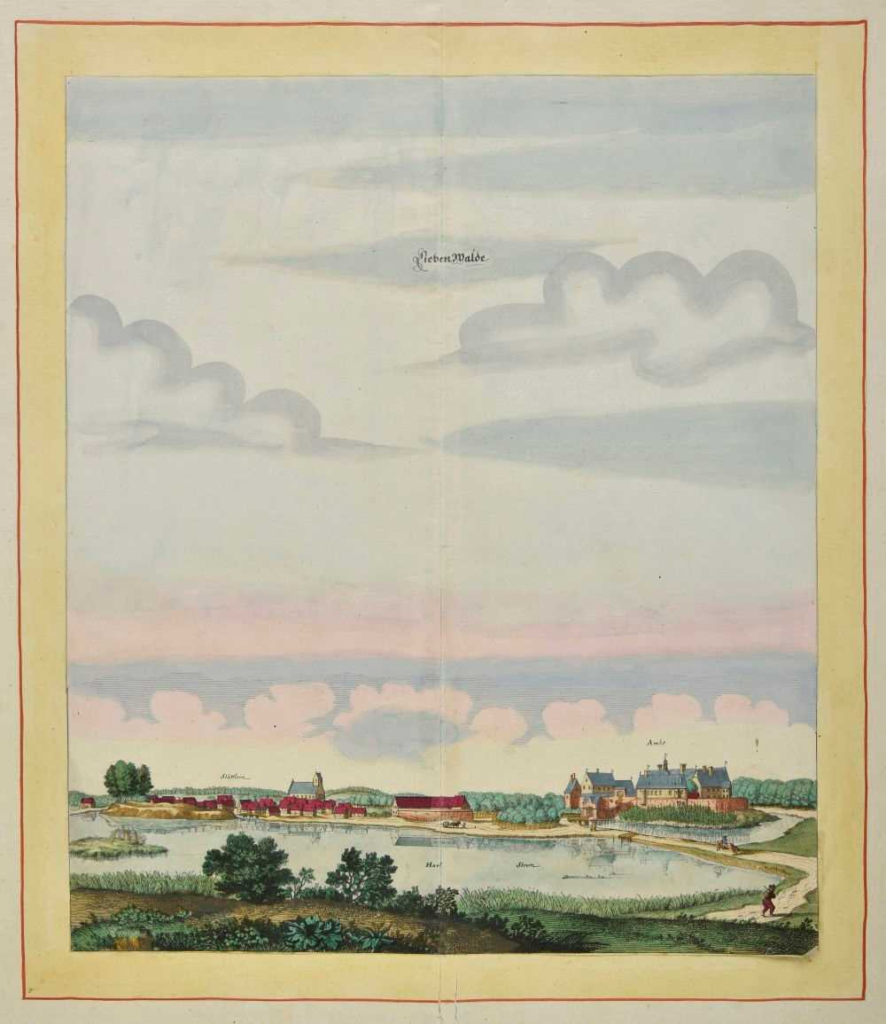Lot 2-Beek (Anna). Liebenwalde & Sonnenburch, circa 1700