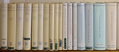 Lot 37-English Place-Name Society. 69 volumes, circa 1925 - 2016